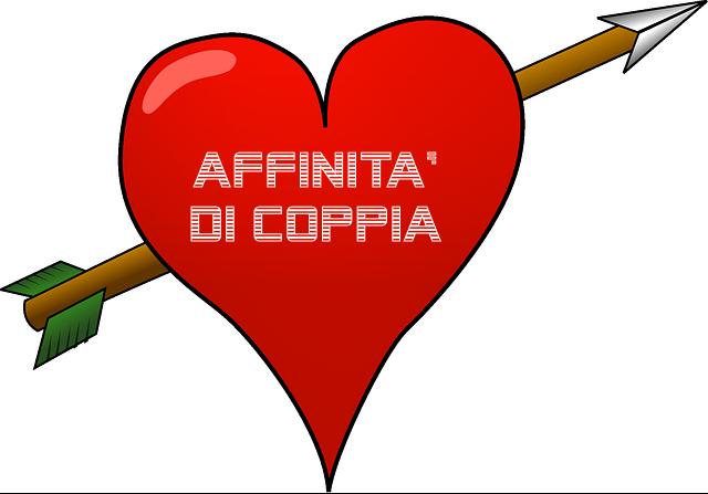 Calcolo affinit di coppia sui nomi for Coppia di fatto significato