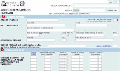 Come pagare l 39 imu online con l 39 f24 for Pagamento imu
