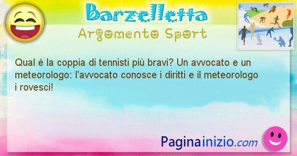 Barzelletta argomento Sport