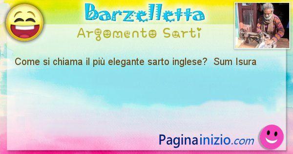 Come si chiama argomento Sarti: Come si chiama il più elegante sarto ... (id=388)
