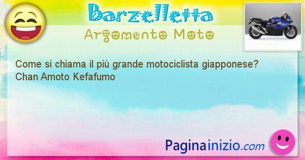 Come si chiama argomento Moto: Come si chiama il più grande motociclista ... (id=390)
