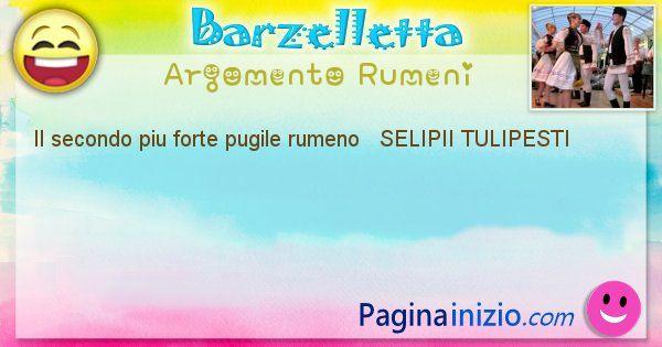 Come si chiama argomento Rumeni: Il secondo piu forte pugile rumeno   SELIPII ... (id=415)