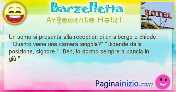 Barzelletta argomento Hotel