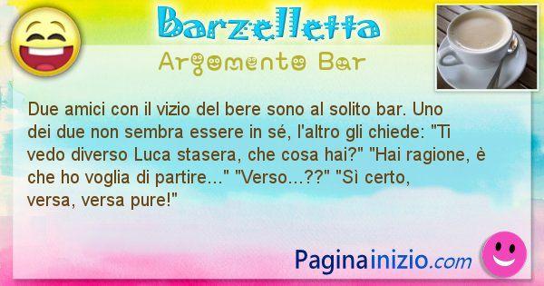 Barzelletta argomento Bar