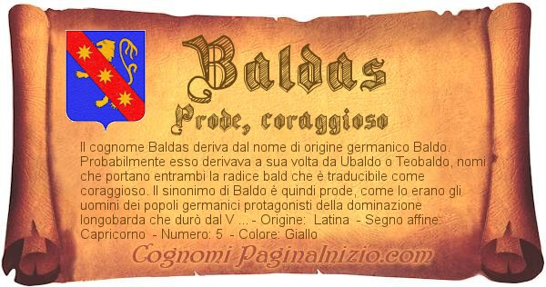 Nome Baldas