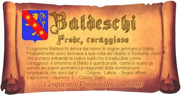Nome Baldeschi