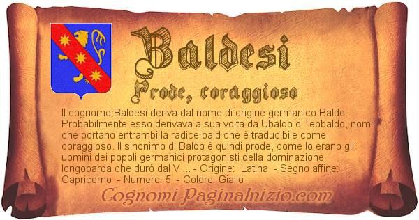 Nome Baldesi