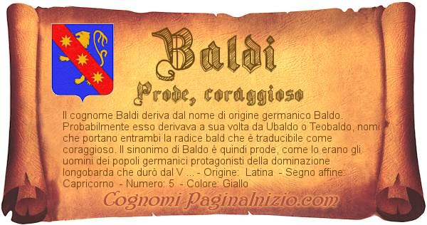 Nome Baldi