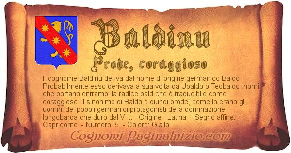 Nome Baldinu