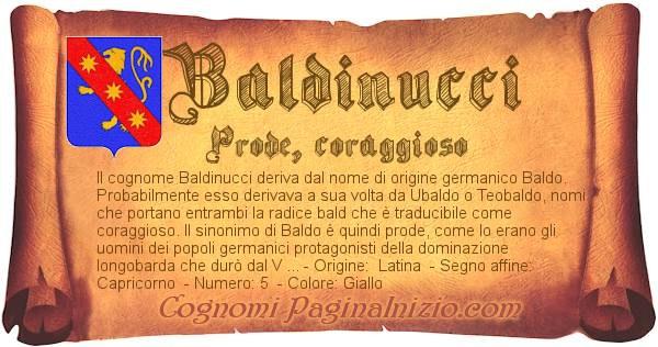 Nome Baldinucci