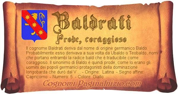 Nome Baldrati