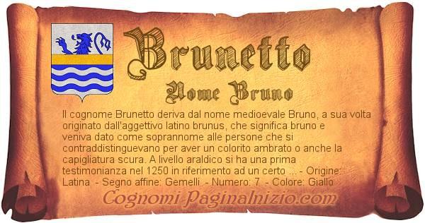 Nome Brunetto