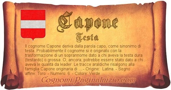 Nome Capone