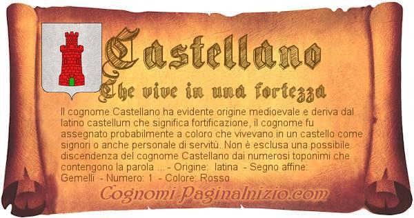 Nome Castellano
