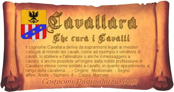 Nome Cavallara