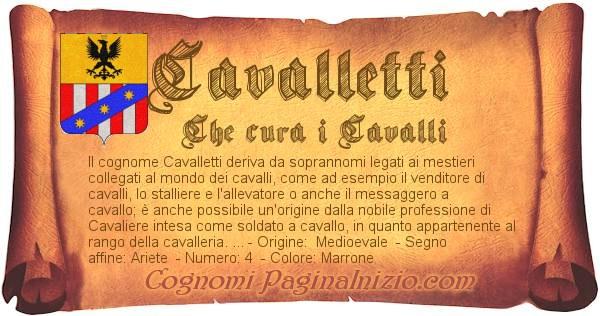 Nome Cavalletti