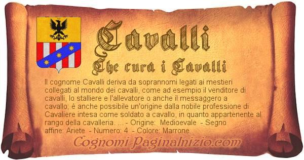 Nome Cavalli