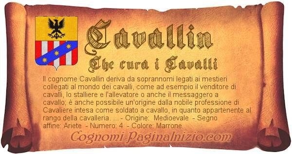 Nome Cavallin