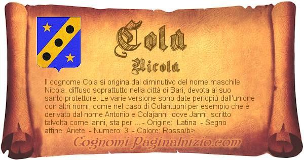 Nome Cola