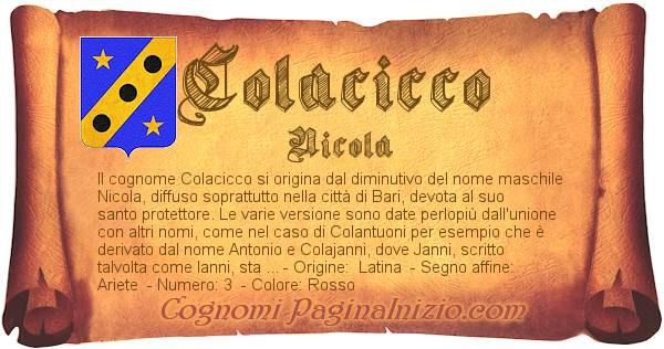Nome Colacicco
