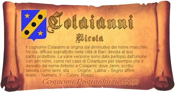 Nome Colaianni