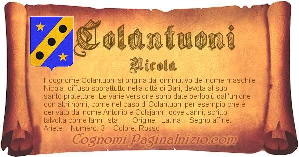 Nome Colantuoni