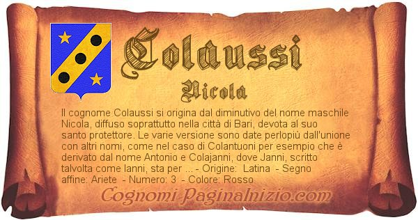 Nome Colaussi
