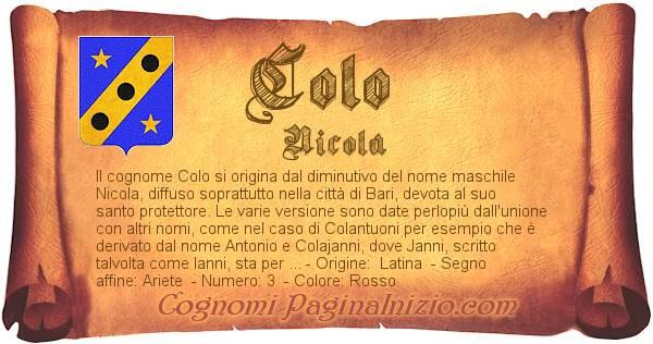 Nome Colo