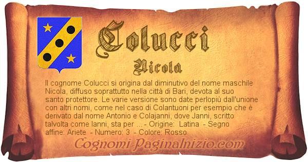Nome Colucci