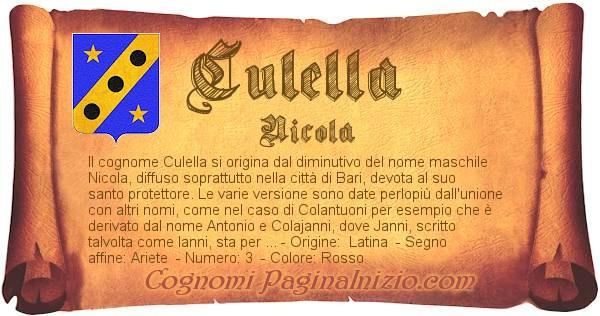 Nome Culella