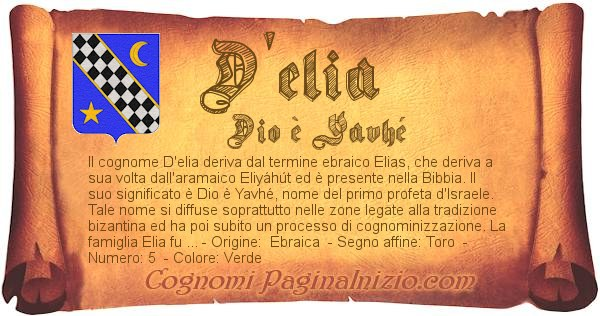 Nome D'elia