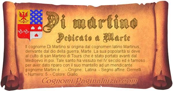 Nome Di martino