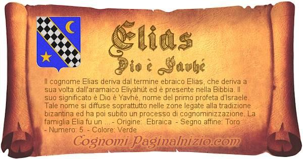 Nome Elias