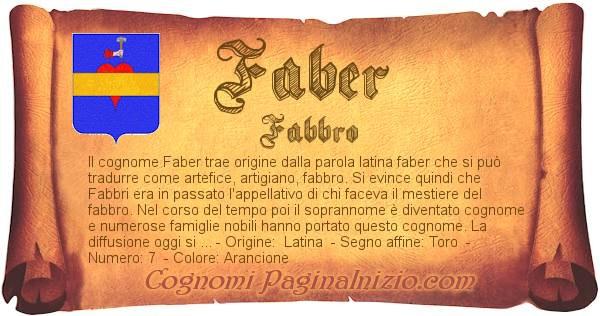 Nome Faber