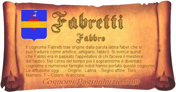Nome Fabretti