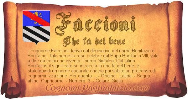 Nome Faccioni