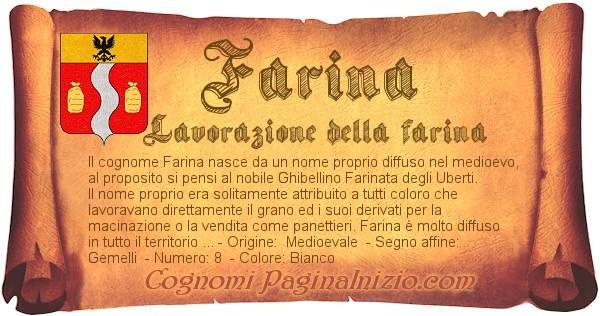 Nome Farina