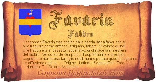 Nome Favarin