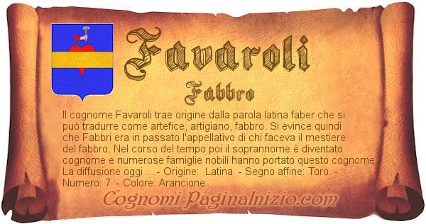 Nome Favaroli