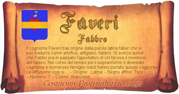 Nome Faveri