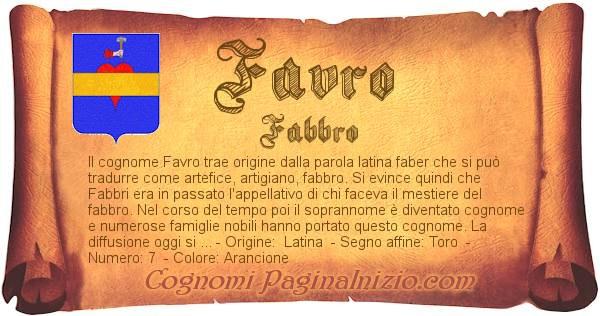 Nome Favro