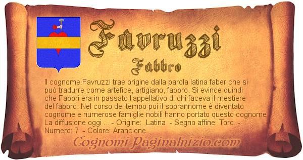 Nome Favruzzi