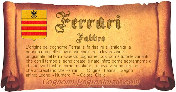 Nome Ferrari