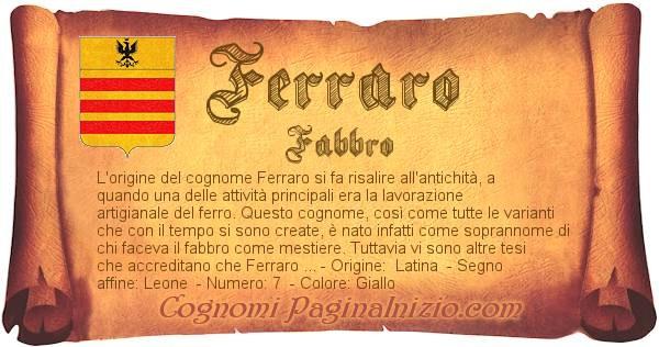 Nome Ferraro