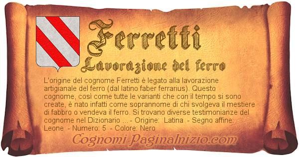 Nome Ferretti