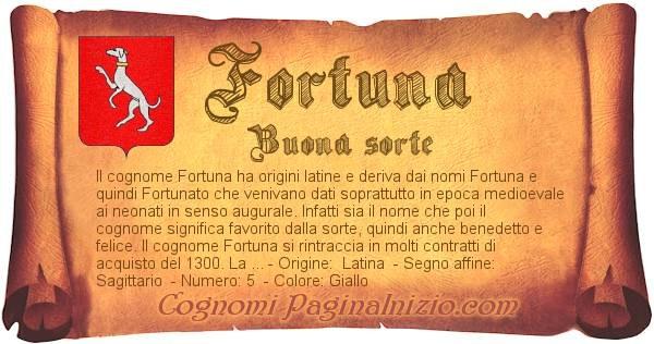 Nome Fortuna