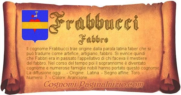 Nome Frabbucci