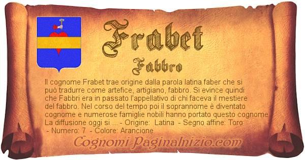 Nome Frabet