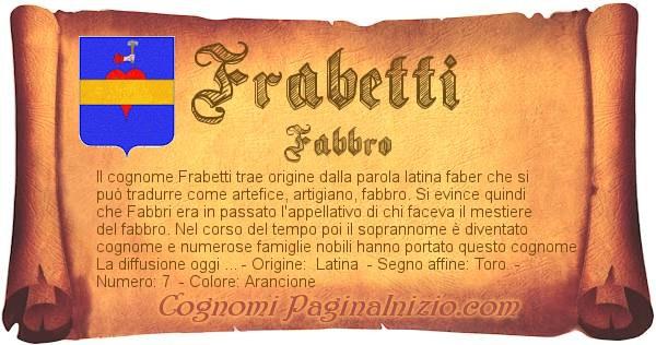 Nome Frabetti