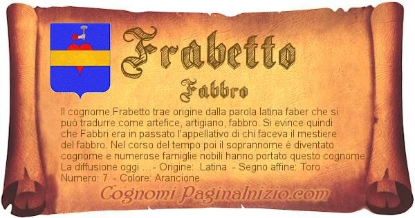 Nome Frabetto
